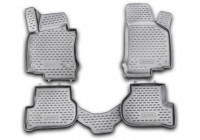 Rubbermatten voor VW Golf VI 04/2009- 4-delig