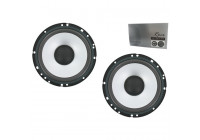 Rocx woofer set Ø  165 mm