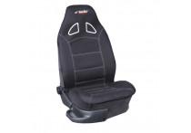 Simoni Racing Stoelhoes 'Piloot' (voorstoel) - Zwart in sportstoel optiek - 1-delig