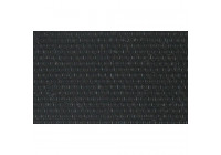 Speakerdoek zwart 75x140cm