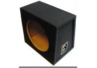 MDF Subwooferkist 12'' 2x aansluiting (22.4/29.9x40x38.1cm)