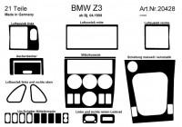 Prewoodec Interieurset BMW Z3 4/1999- 21-delig - Wortelnoot