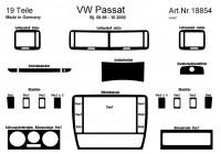Prewoodec Interieurset Volkswagen Passat 3B 4/5-deurs 9/1996-8/2000 14-delig - Wortelnoot