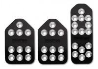 Sparco Set sportpedalen 'Piuma' - Zwart Aluminium - Handgeschakeld
