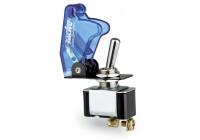 Simoni Racing Baby Go Schakelaar - Blauw Transparant - 12V/20Amp