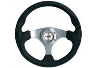 Simoni Racing Sportstuur Interlagos 320mm - Zwart Leder