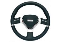 Simoni Racing Sportstuur Montecarlo 320mm - Zwart Leder