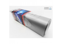 Car Wrapping Folie 10x200cm Geborsteld Zilver, zelfklevend