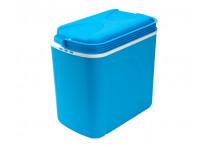 Koelbox 24 liter blauw/wit