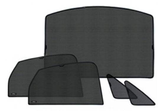 Privacy shades voor Audi A4 B8 Station wagon 5drs 2009- 5-delig