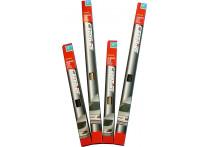 Ruitenfolie krasbestendig lichtgrijs 60% 300 x 50cm