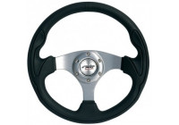 Simoni Racing Sportstuur Interlagos 320mm - Zwart Leder