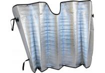Sunshade aluminium voorruit 60 x 130 cm.