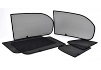 Lunettes de protection Intimité Opel Astra K sportstourer 2015- en 6 parties PV OPASTED Privacy shades