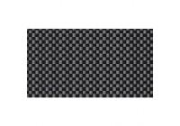 Feuille de style intérieur aspect carbone - Autocollante