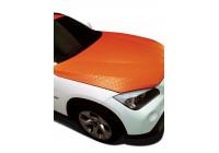 Feuille de vinyle décor orange bricolage 50x100cm, adapté pour les pièces intérieures et extérieures