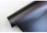 Film d'emballage de voiture 152x200cm noir mat, auto-adhésif