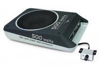Basscube avec amplificateur sous siège 500W