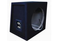 Boîtier de caisson de basses en MDF 10 '' 2x connection (19.5 / 27.5x35x33.5cm)
