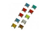 Fusibles enfichables à profil bas, assortis de 10 pièces