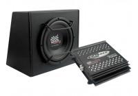Caliber Pack12P - Subwoofer set - 12 tum - Svart
