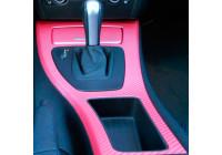 3D Carbon Foil Pink 152x200cm, självhäftande