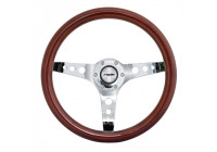 Simoni Racing Sport ratt Arnoux 350mm - Real Wood