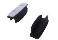 Plast självhäftande clip liggande