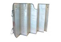 Solskydd aluminium 145 x 80 cm