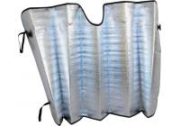 Solskydd aluminium vindruta 60 x 130 cm.