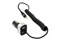 Bil 12V / 24V Dual USB 5.8A