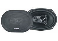 Excalibur-högtalare 6x9 tums 3-vägs 500W / 100RMS