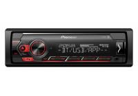 Pioneer MVH-S410BT bilradio USB / Aux / Bluetooth (1-din)