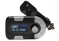 DAB 11 - DAB + RADIO adapter med FM TRANSMITTER
