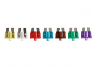 SET OF 10 AUTO FUSES WITH INDICATOR LIGHT (7.5 - 30A)