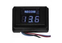 Necom digital voltmätare