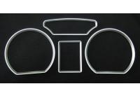 Plastringar VW Polo 9N / 9N2 01-09 silver (4st)