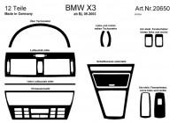 Prewoodec inre utrustning BMW X3 9 / 2003- Automatiska 12 delar - grundton