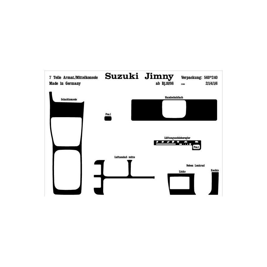 prewoodec inre utrustning suzuki jimny 10    1998