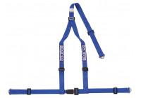 Sparco 3-Point Sports Belt - blå - inkl Skruvmontering (E-Mark).