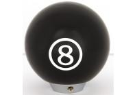AutoStyle växelspaksknopp 8 boll - svart