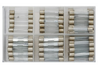Assortment of glass fuses 95 pieces