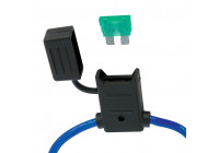 Fuse holder + plug fuse 30A.