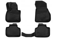 Rubber car mats BMW X1 F48 2015-> 4 pieces
