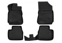 Rubber car mats Citroen C4 Cactus 2014-> 4 pieces