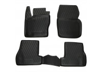 Rubber mats for Ford Focus 3 04 / 2011-2015 4-part