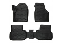 Rubber mats for Land Rover Discovery Sport 2014- 4-part