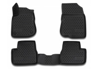 Rubber mats for Peugeot 2008 2014 to 2019 - 4-piece