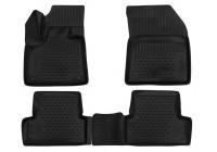 Rubber mats for Peugeot 3008 2017-> 4 parts