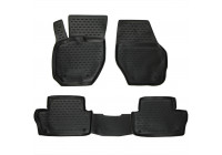 Rubber mats for Volvo XC60 2007->, 4 parts.
